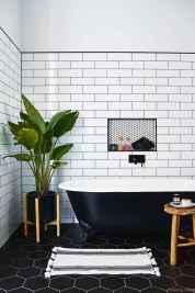 77 Fabulous Modern Farmhouse Bathroom Tile Ideas 19