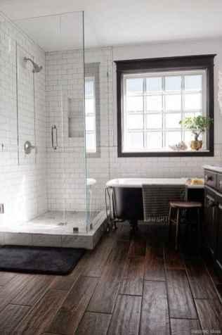 77 Fabulous Modern Farmhouse Bathroom Tile Ideas 25