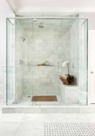 77 Fabulous Modern Farmhouse Bathroom Tile Ideas 64