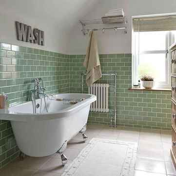 77 Fabulous Modern Farmhouse Bathroom Tile Ideas 76