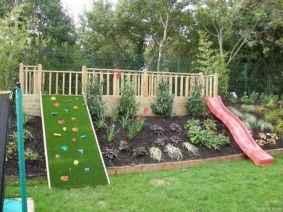 80 Backyard Playground Design Ideas