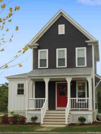 82 Incredible Modern Farmhouse Exterior Color Ideas