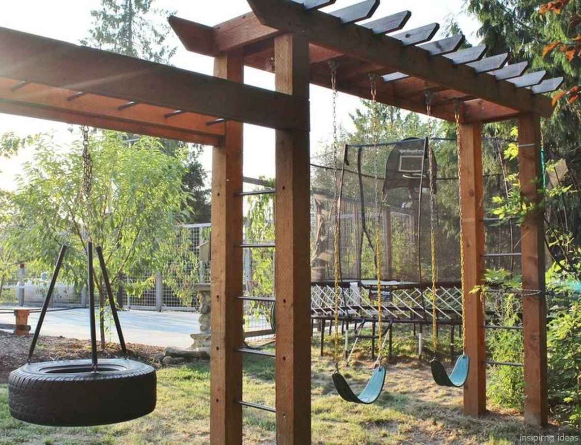 86 Backyard Playground Design Ideas