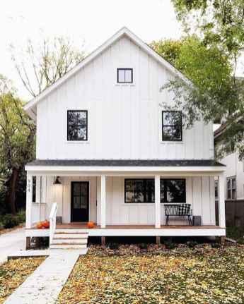 97 Incredible Modern Farmhouse Exterior Color Ideas