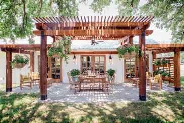 Fabulous Patio Ideas with Pergola 07