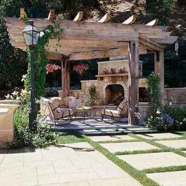 Fabulous Patio Ideas with Pergola 67
