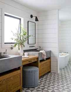05 Best Modern Farmhouse Master Bathroom Design Ideas