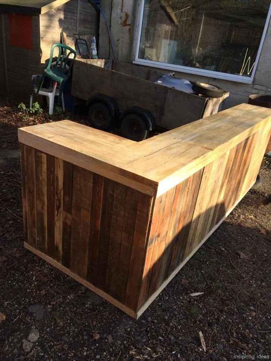 20 Nice DIY Pallet Bar Design Ideas