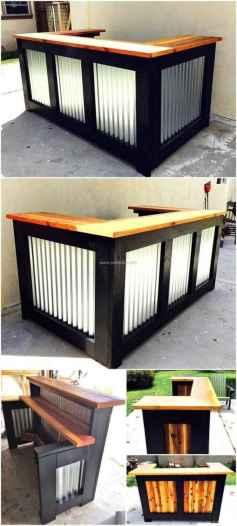32 Nice DIY Pallet Bar Design Ideas
