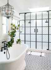 43 Best Modern Farmhouse Master Bathroom Design Ideas