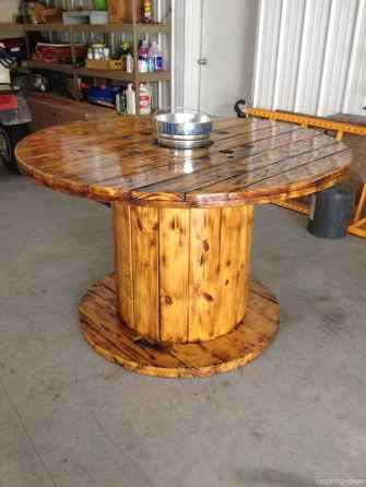 51 DIY Upcycled Spool Project Ideas for Outdoor Furniture