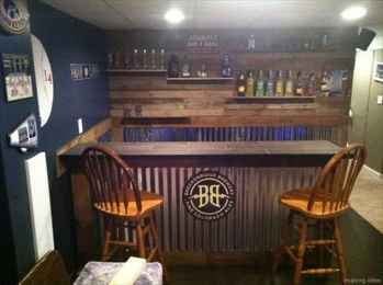 54 Nice DIY Pallet Bar Design Ideas