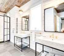 56 Best Modern Farmhouse Master Bathroom Design Ideas