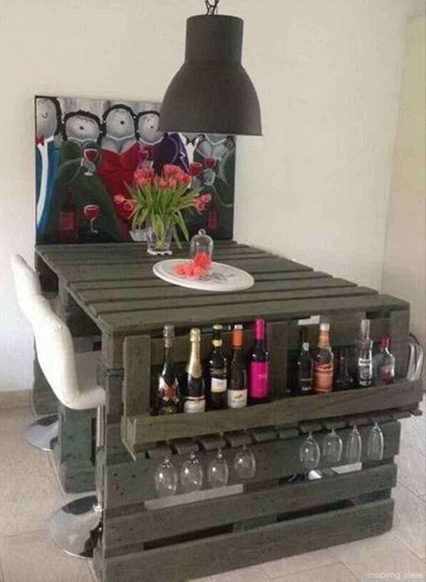 59 Nice DIY Pallet Bar Design Ideas