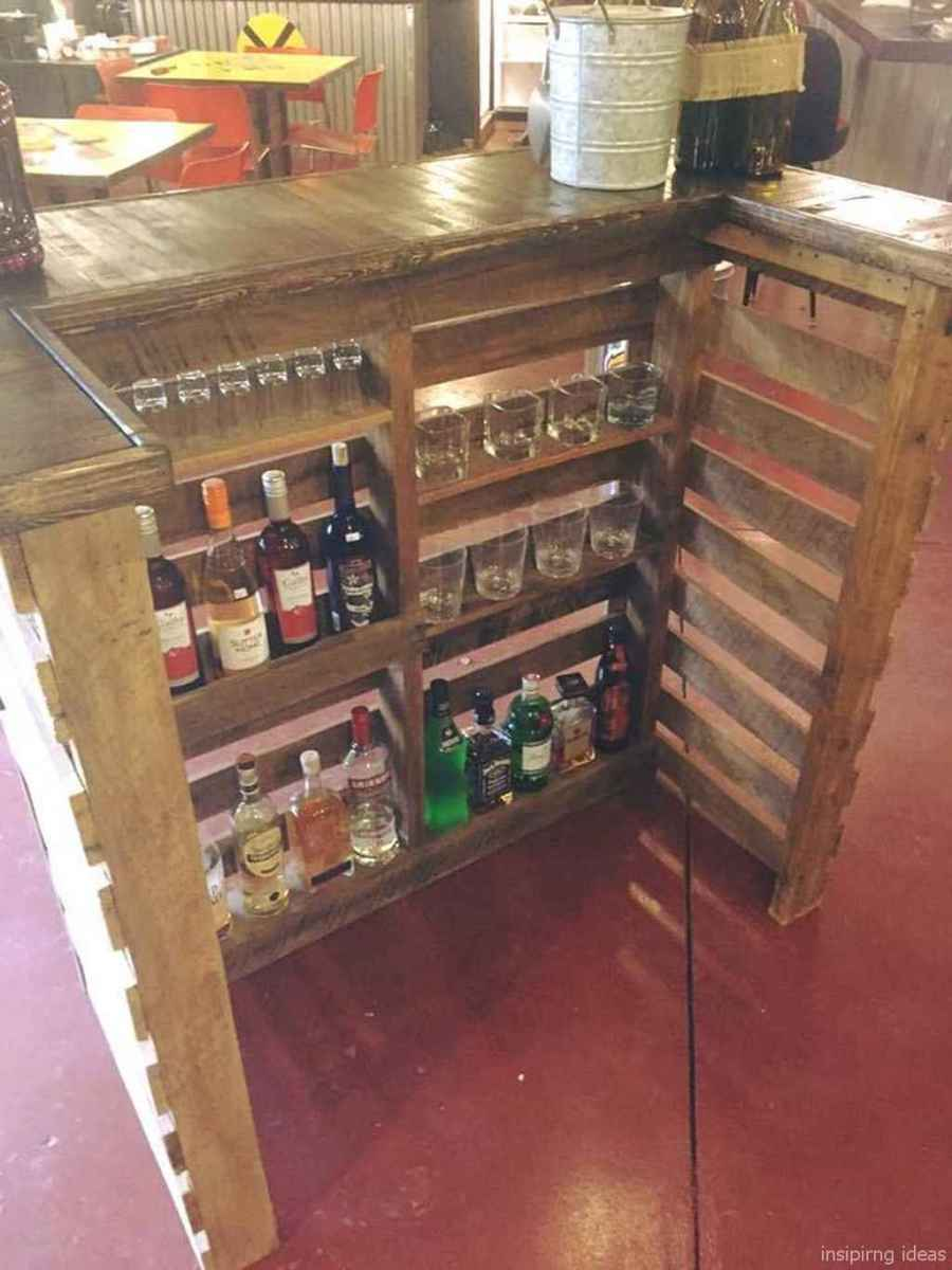 72 Nice DIY Pallet Bar Design Ideas