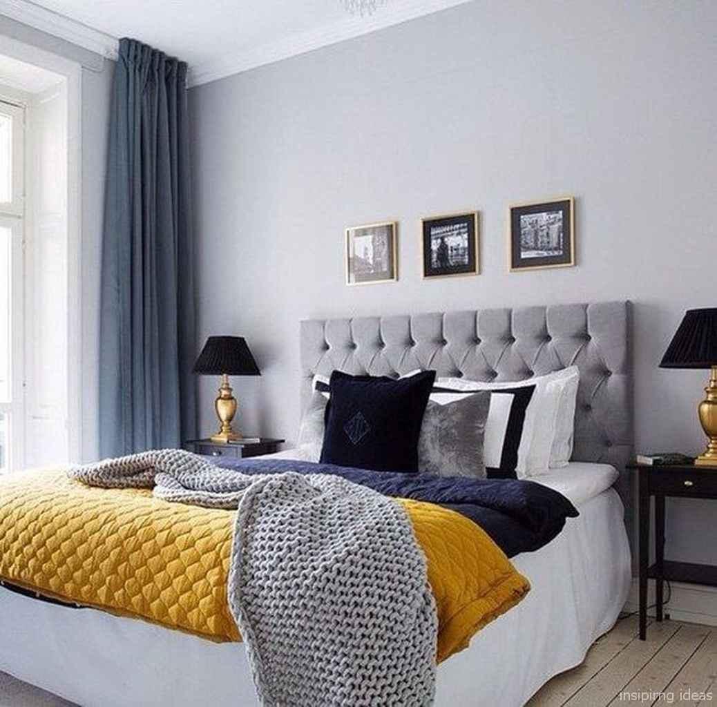 Minimalist Apartment Bedroom Decorating Ideas 68