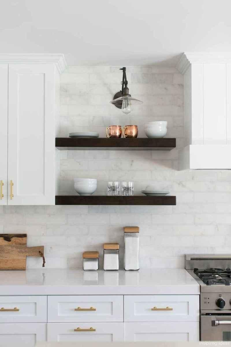 Modern Farmhouse Kitchen Backsplash Design Ideas 29