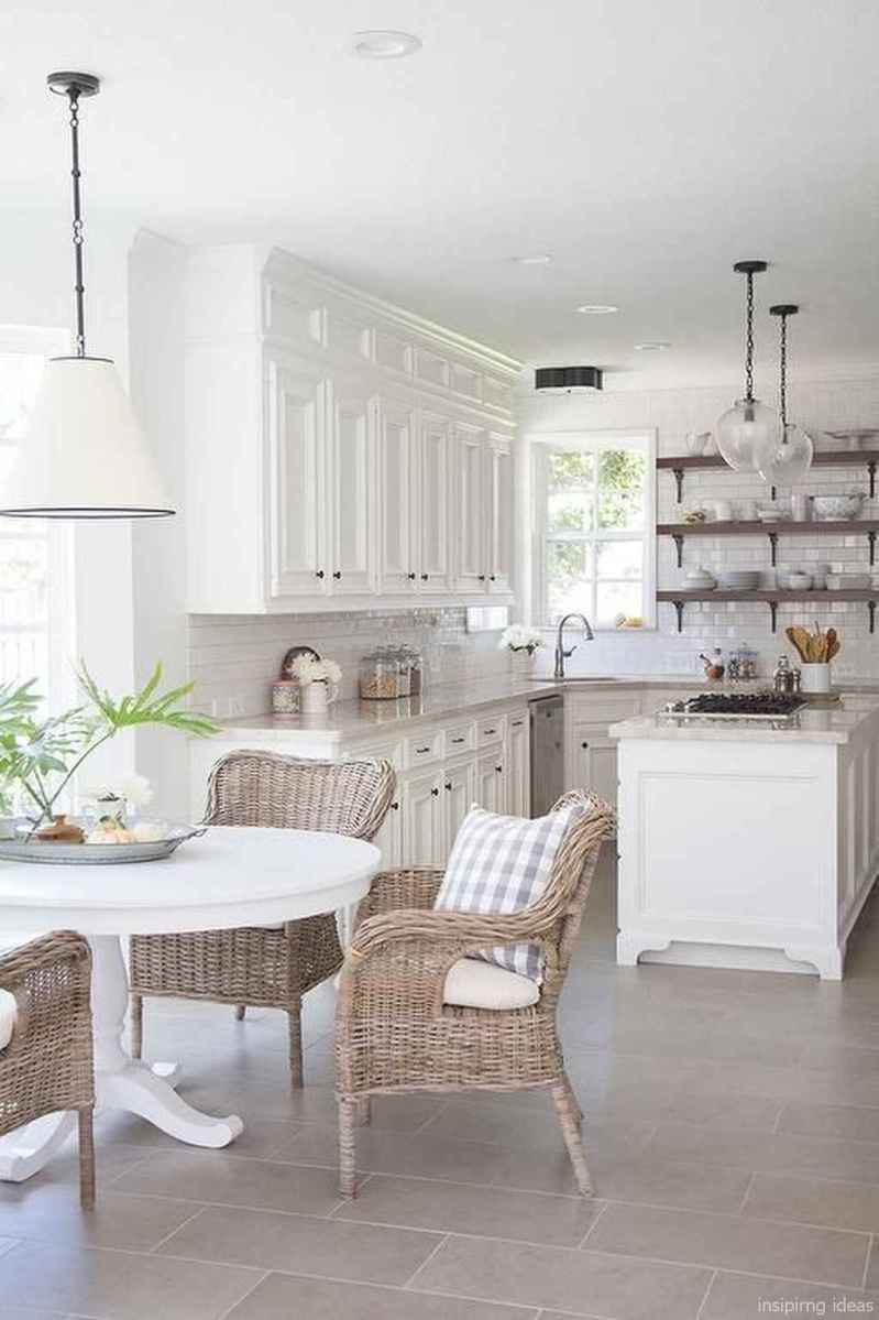 Modern Farmhouse Kitchen Backsplash Design Ideas 59