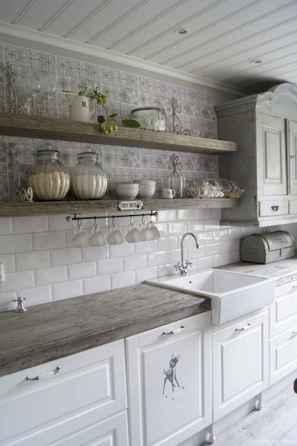 Modern Farmhouse Kitchen Backsplash Design Ideas 72