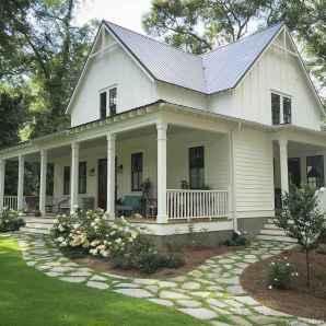 Simple Modern Farmhouse Exterior Design Ideas 04