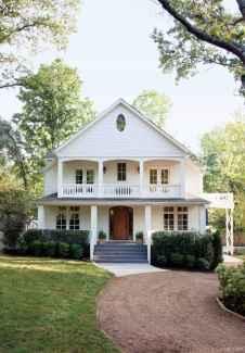 Simple Modern Farmhouse Exterior Design Ideas 40