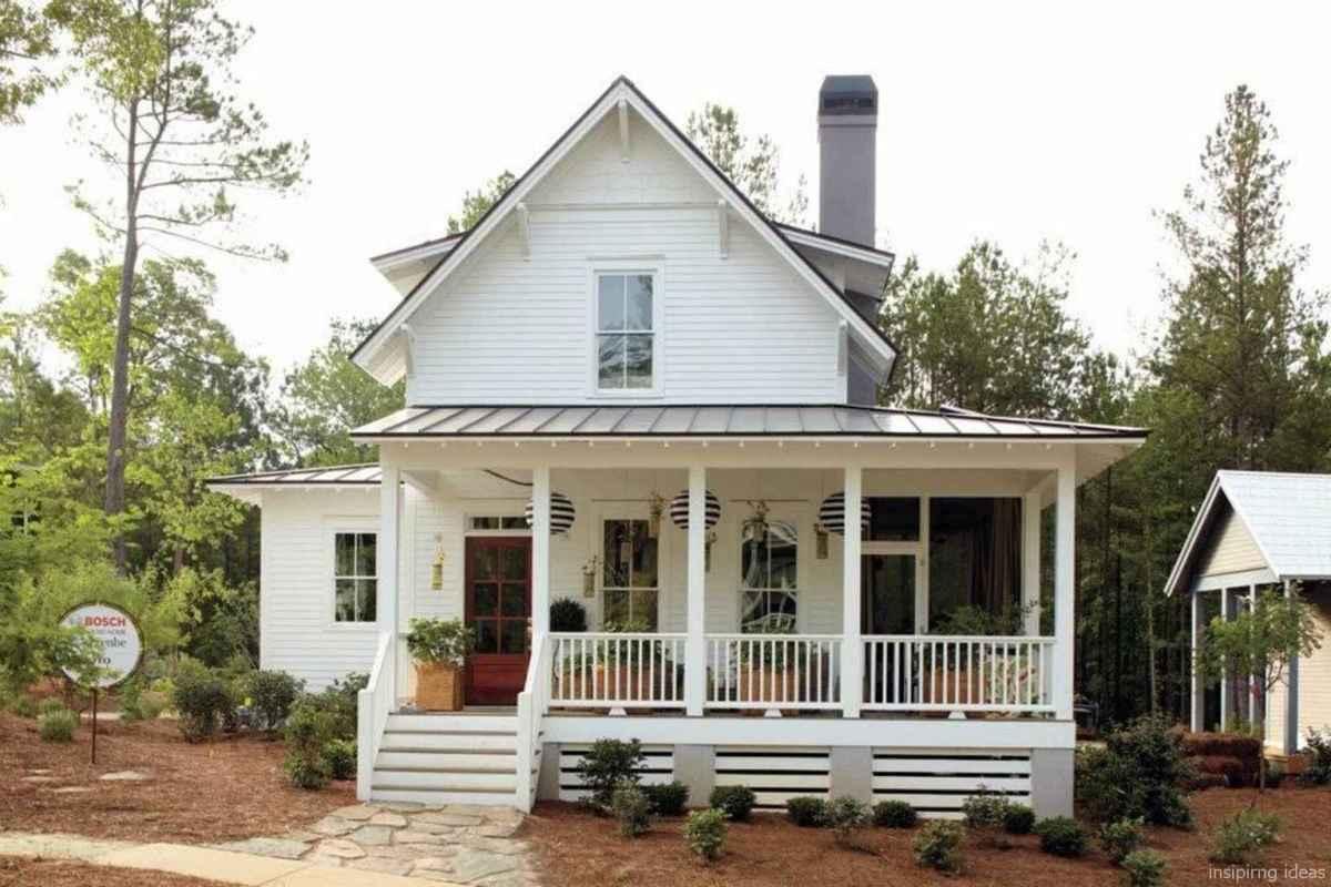 Simple Modern Farmhouse Exterior Design Ideas 52