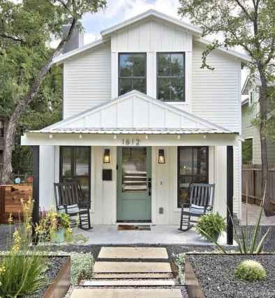 35 Modern Small Farmhouse Exterior Design Ideas