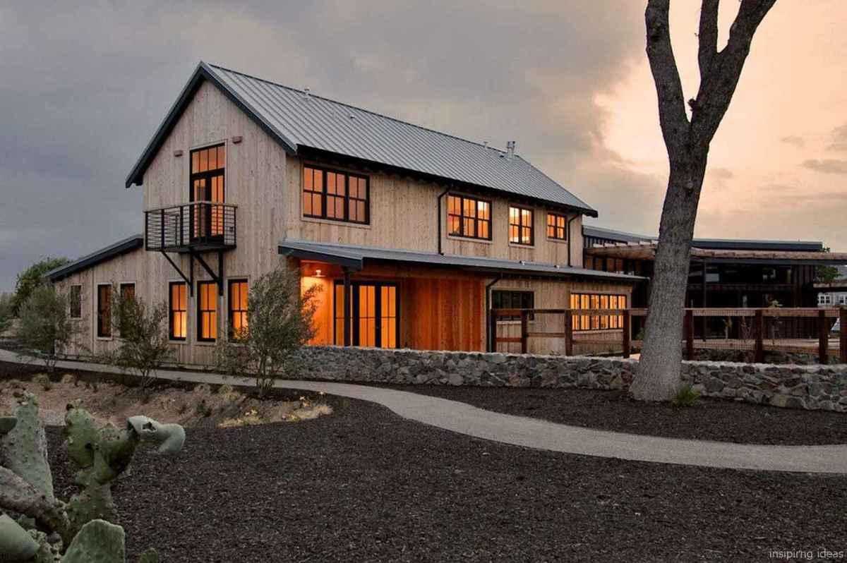 40 Modern Small Farmhouse Exterior Design Ideas