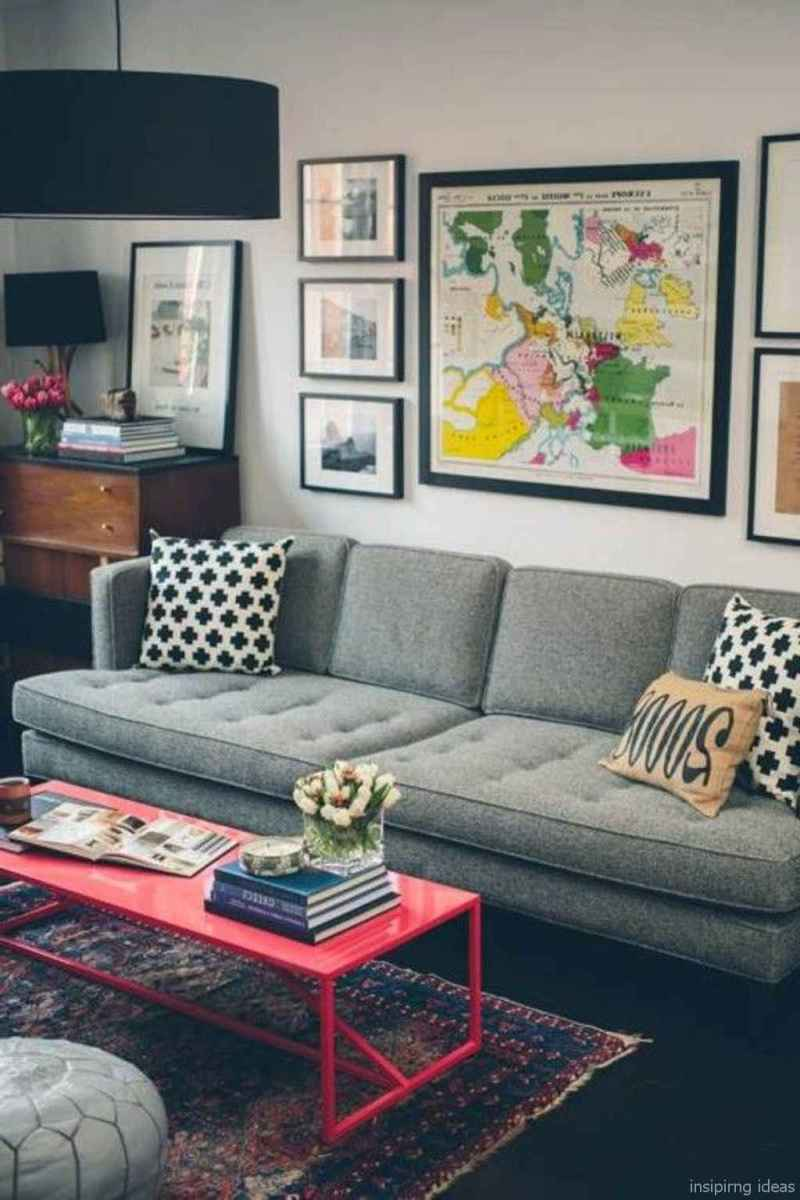 41 Cheap Modern Apartment Living Room Decorating Ideas