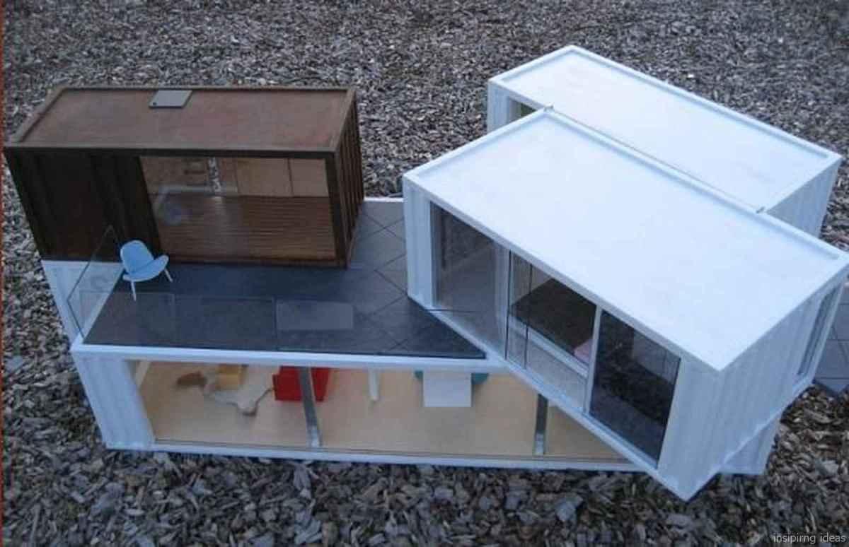 45 Genius Container House Design Ideas