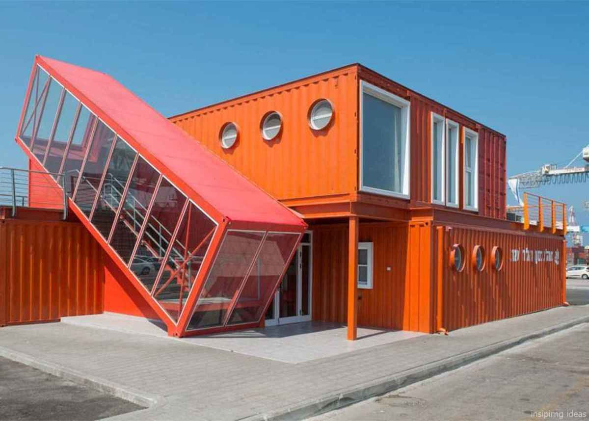 46 Genius Container House Design Ideas