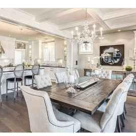 06 Beautiful Modern Farmhouse Dining Room Decor Ideas