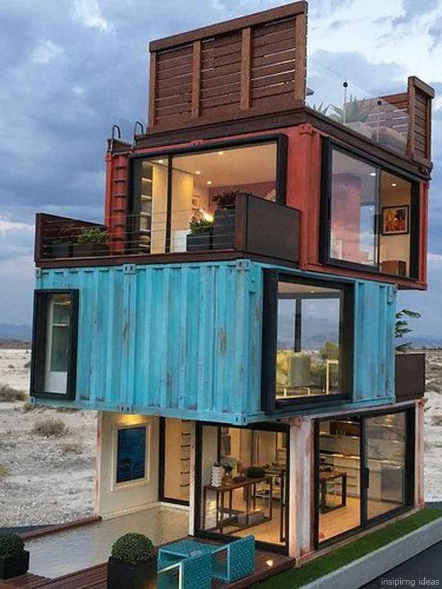08 Unique Container House Interior Design Ideas