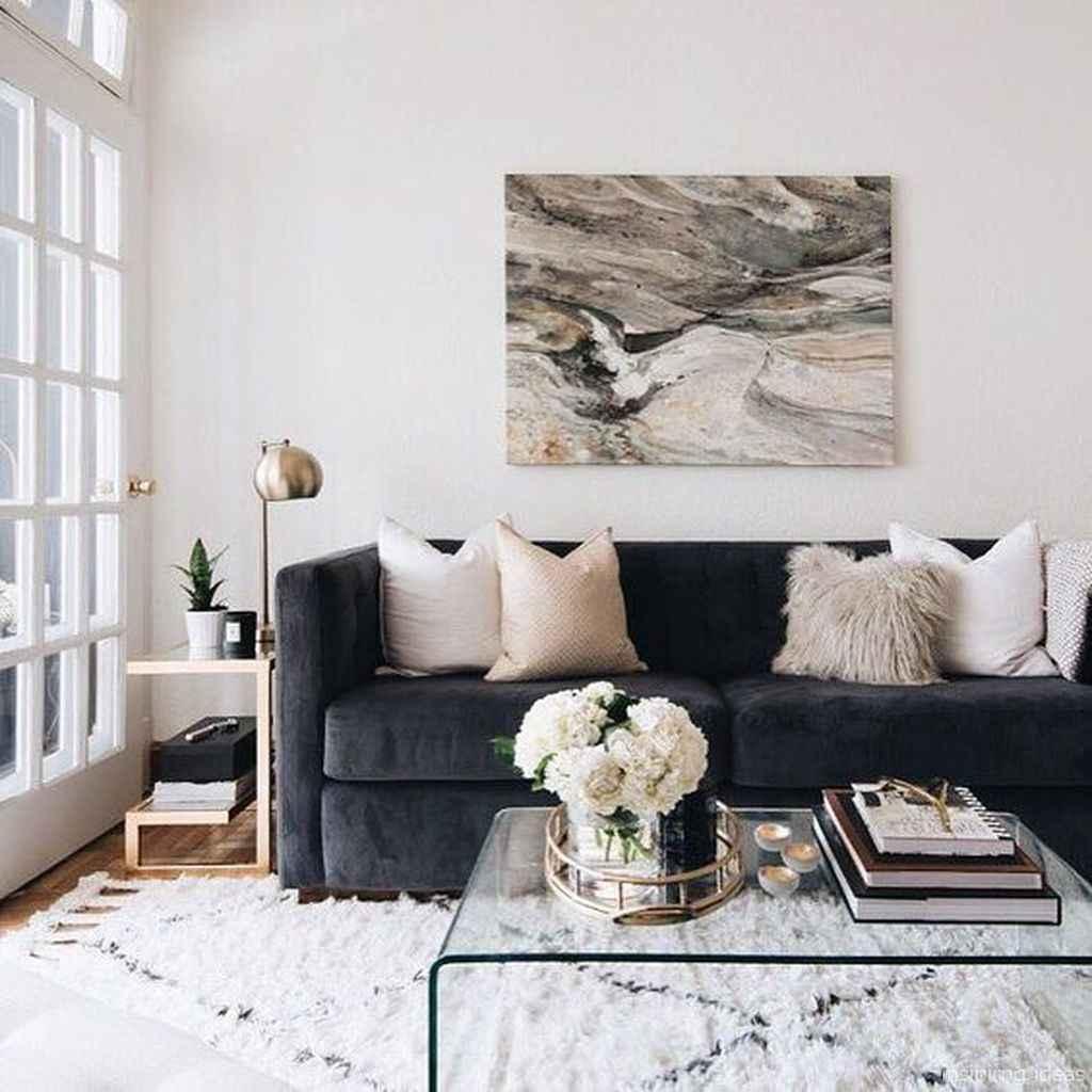 09 Fabulous Modern Gray Living Room Decor Ideas