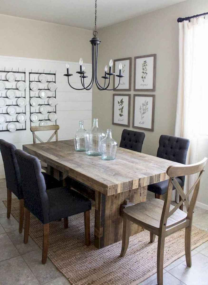 10 Beautiful Modern Farmhouse Dining Room Decor Ideas