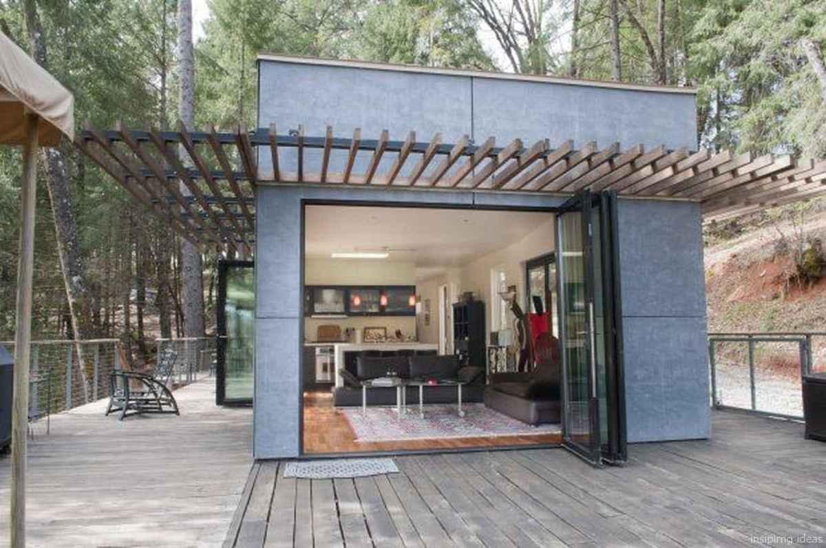 17 Unique Container House Interior Design Ideas