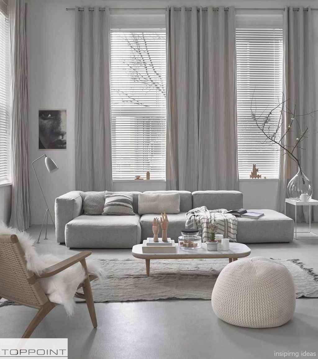 19 Fabulous Modern Gray Living Room Decor Ideas