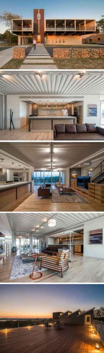 23 Unique Container House Interior Design Ideas