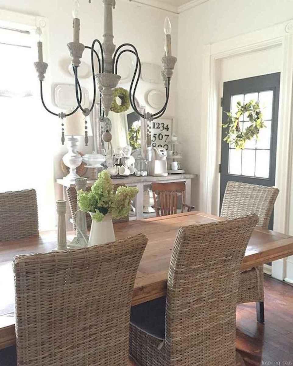 27 Beautiful Modern Farmhouse Dining Room Decor Ideas