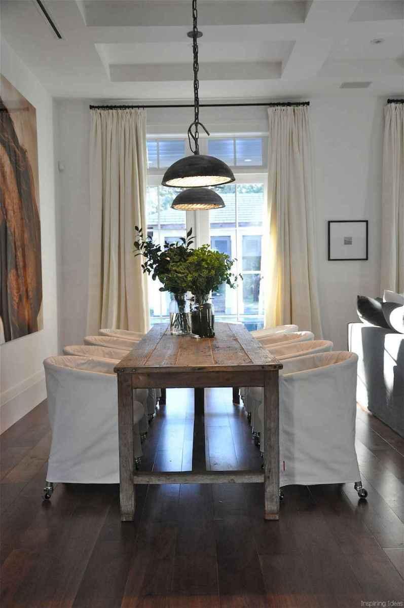 33 Beautiful Modern Farmhouse Dining Room Decor Ideas