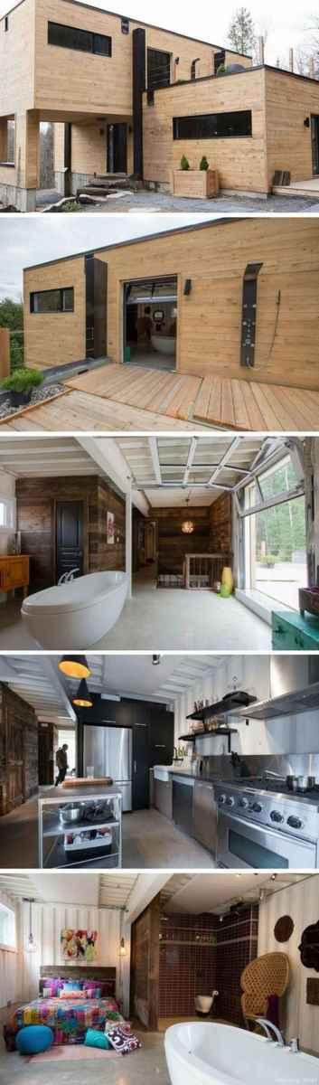 33 Unique Container House Interior Design Ideas