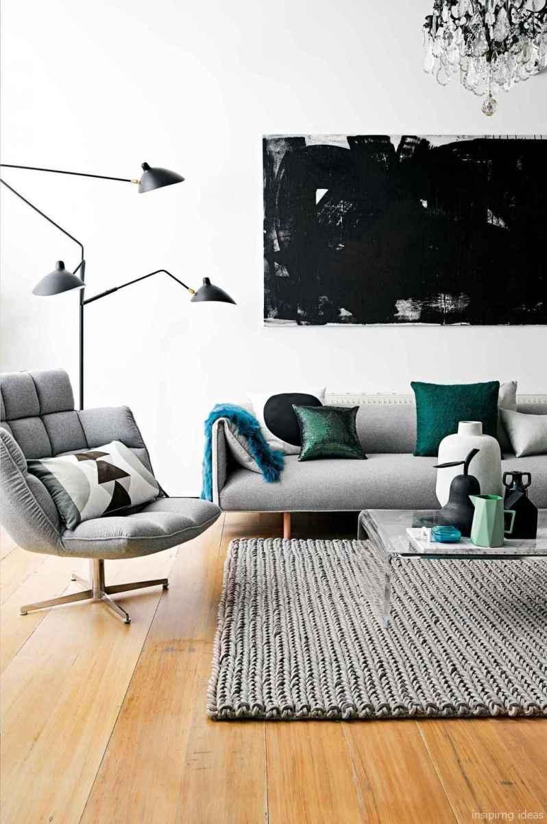 39 Fabulous Modern Gray Living Room Decor Ideas