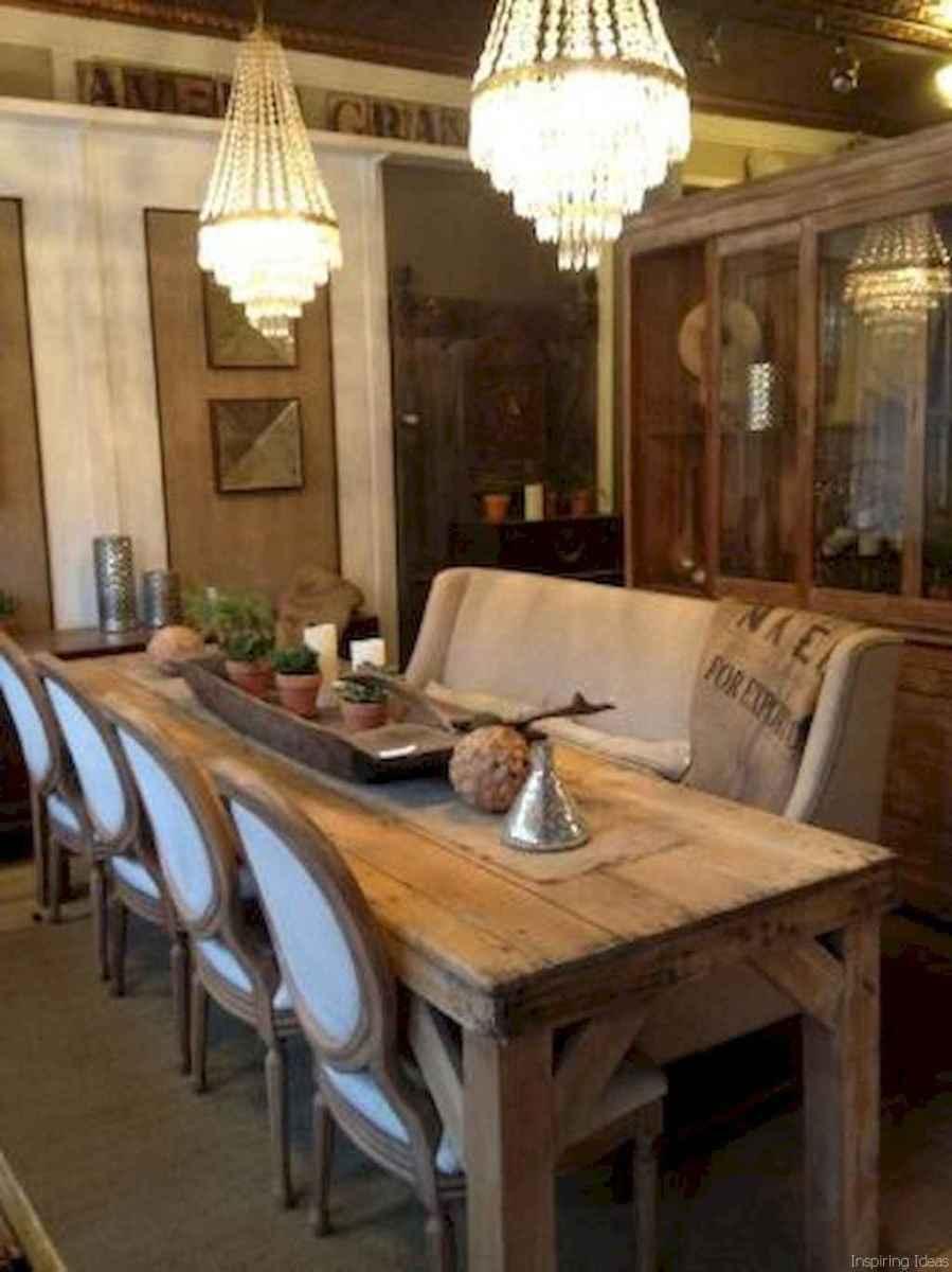 42 Beautiful Modern Farmhouse Dining Room Decor Ideas
