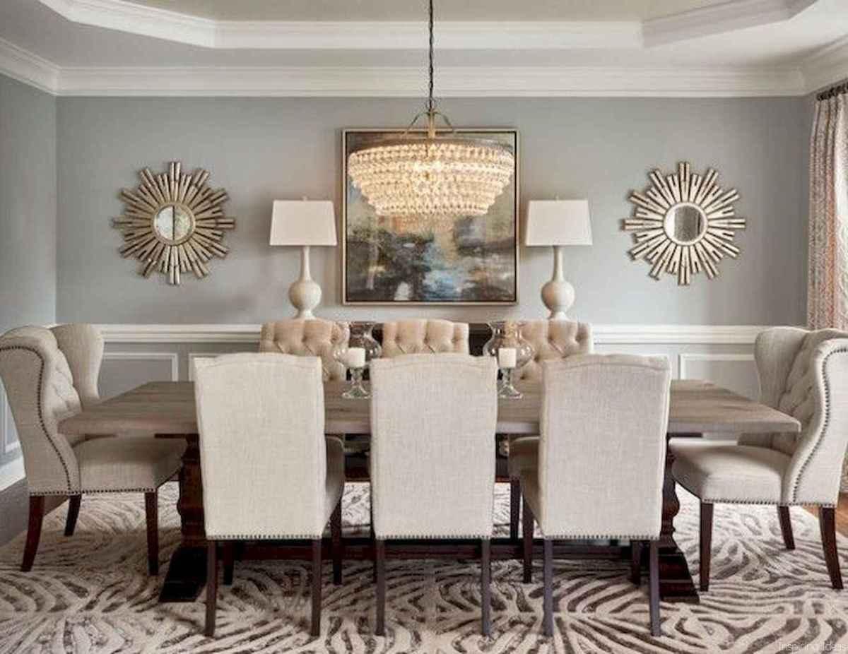 49 Beautiful Modern Farmhouse Dining Room Decor Ideas ...