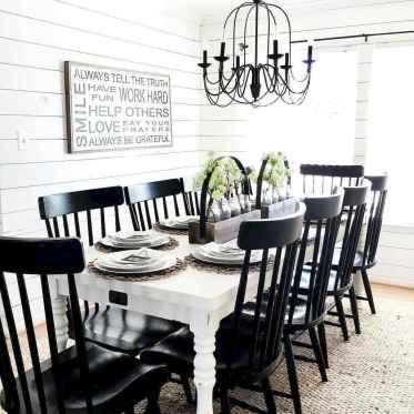 60 Beautiful Modern Farmhouse Dining Room Decor Ideas