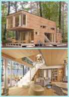 69 Unique Container House Interior Design Ideas