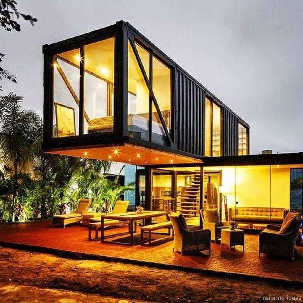 72 Unique Container House Interior Design Ideas