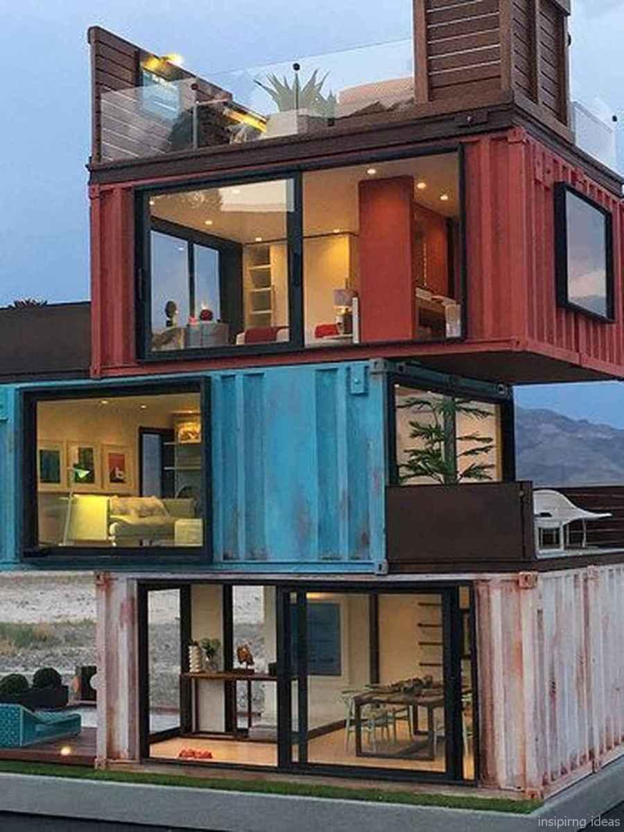 73 Unique Container House Interior Design Ideas