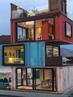 73 Unique Container House Interior Design Ideas