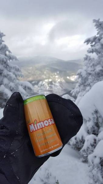Who says you can't have brunch on the mountain?